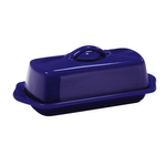 Chantal Cobalt Blue Ceramic 8.5 Inch Full Size Butter Dish