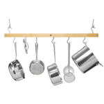 J.K. Adams Natural Maple Bar Pot Rack