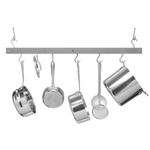 J.K. Adams Gray Maple Bar Pot Rack