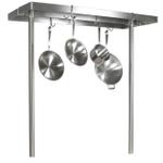 John Boos Cucina Grande Stainless Steel Pot Rack, 48 Inch