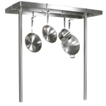 John Boos Cucina Grande Stainless Steel Pot Rack, 60 Inch