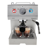 Capresso Cafe Select Professional Stainless Steel Espresso & Cappuccino Machine
