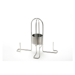 Outset Stainless Steel Flavor Roaster for Chicken and Potatoes