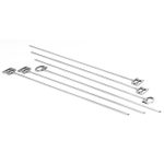 Outset Stainless-Steel BBQ Skewers, Set of 6