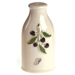 Revol La Provence Cream Porcelain Pepper Shaker