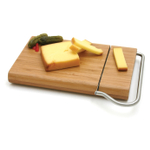 Swissmar Bamboo Cutting Board with Cheese Slicer Blade
