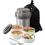 Zojirushi Mr. Bento Stainless Steel Lunch Jar Set. Bento