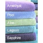 Carnival Sapphire 4 Piece Bathroom Hand Towel Set