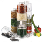 Prodyne 12 Bottle Acrylic Spice Tower CarouselBottle