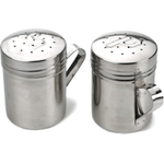 RSVP Endurance Stainless Steel Salt and Pepper Shaker Set