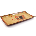 Large Ceramic Harvest Rectangular Serving Tray