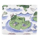 Froggy Day Printed Design Bathroom Bath Towel