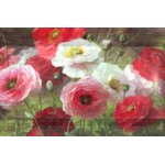 Poppy Cluster Design Small Melamine Luxury Serving Tray