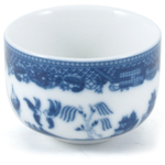 HIC Blue Willow Porcelain Tea Cup