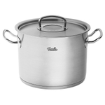 Fissler Original Pro Collection Stainless Steel High Stew Pot, 9.6 Quart