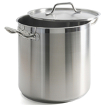 Danesco Stainless Steel Deep Gastronome Pro Stockpot 13.8 Liter