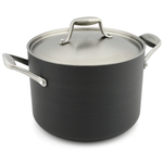 GreenPan San Francisco Aluminum Stock Pot with Lid, 8 Quart