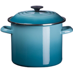 Le Creuset Caribbean Enamel on Steel 8 Quart Stockpot