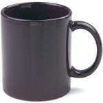 OmniWare Teaz Cafe Aubergine Stoneware 11 Ounce Classic Coffee Mug