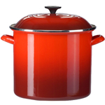 Le Creuset Cherry Enamel on Steel 20 Quart Stockpot