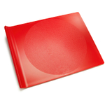 Preserve Eco Friendly Large Plastic Cutting Board in Red Tomato