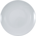 HIC Coupe White Porcelain 7.5 Inch Salad Plate