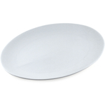 Coupe White Porcelain Oval Platter