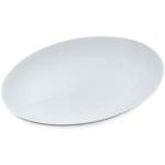 Coupe White Porcelain Oval Platter
