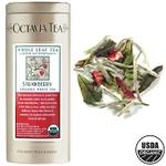 Octavia Strawberry Organic White Loose Tea