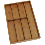 Lipper International Bamboo 7 Slot Flatware Drawer Organizer