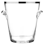 Peugeot Platinum Glass Champagne Bucket