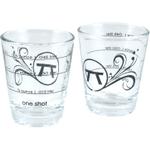 Outset 2 Ounce Measuring Shot Glasses, Set of 24