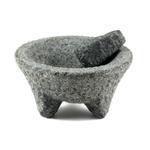 Extra Large Granite Mortar and Pestle Molcajete Set
