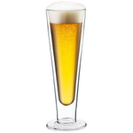 Bodum Manhattan Double Wall Thermal Pilsner Beer Glass, 20 Ounce