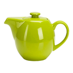 OmniWare Teaz Citron Stoneware 24 Ounce Teapot with Stainless Steel Mesh Infuser