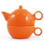 Metropolitan Tea Orange Ceramic Tea For Me Pot