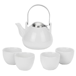 Old Dutch Ariel White 6 Piece Teapot Set
