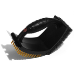 Outset V Shaped 3-in-1 Grill Brush with Pad