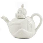 Porcelain Indian Monkey Teapot 30 Ounces