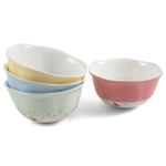 Lenox Butterfly Meadow Porcelain Assorted Dessert Bowl, Set of 4