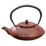 Japanese Tetsubin Cast Iron Bamboo 20 oz Teapot