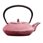 Japanese Tetsubin Cast Iron Pink 20 oz Teapot