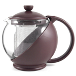 Purple Plum Multi-function Teapot W/infusertea Pot 42oz