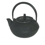 Japanese Tetsubin Black Hobnail Cast Iron Teapot