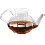 Heat Resistant Glass Teapot with Infuser 33 Ounce