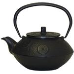 Black Traditional Japanese Tetsubin Cast Iron Teapot