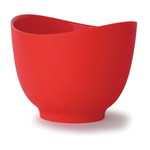 iSi Flex-it Red Silicone Mixing Bowl, 1.5 Quart