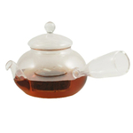 Hand Made Heat Resistant HongJian Glass Tea Pot