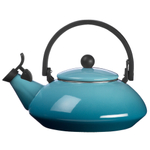 Le Creuset Caribbean Enamel On Steel Zen Tea Kettle, 1.5 Quart
