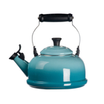 Le Creuset Caribbean Enamel On Steel Whistling Tea Kettle, 1.75 Quart